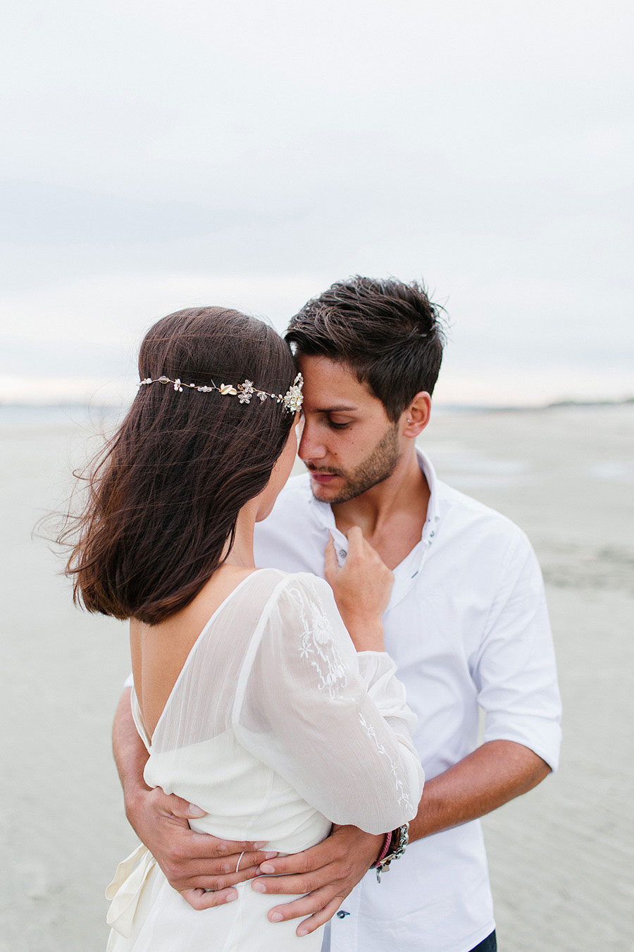 Down By The Sea! A Free-Spirited Elopement Editorial Shoot0054