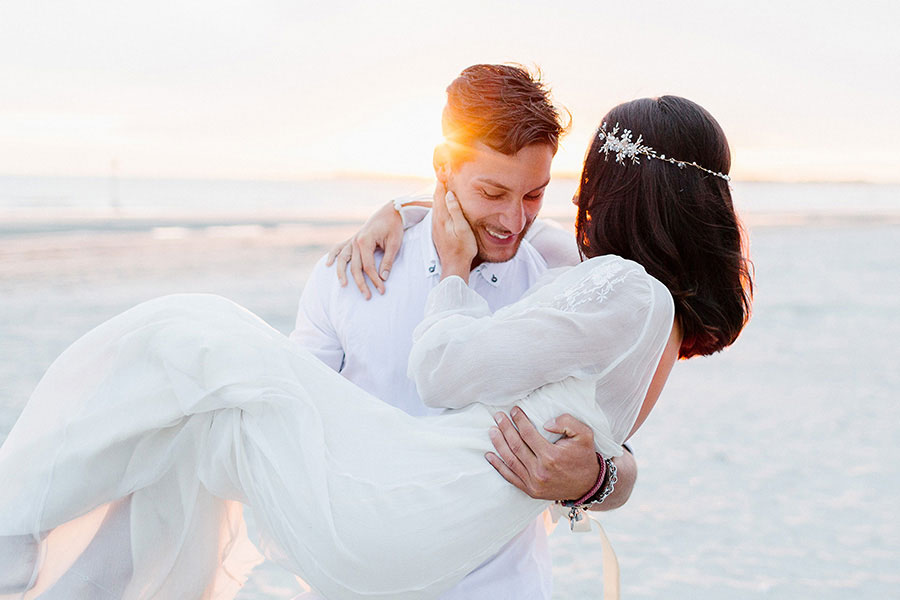 Down By The Sea! A Free-Spirited Elopement Editorial Shoot0073