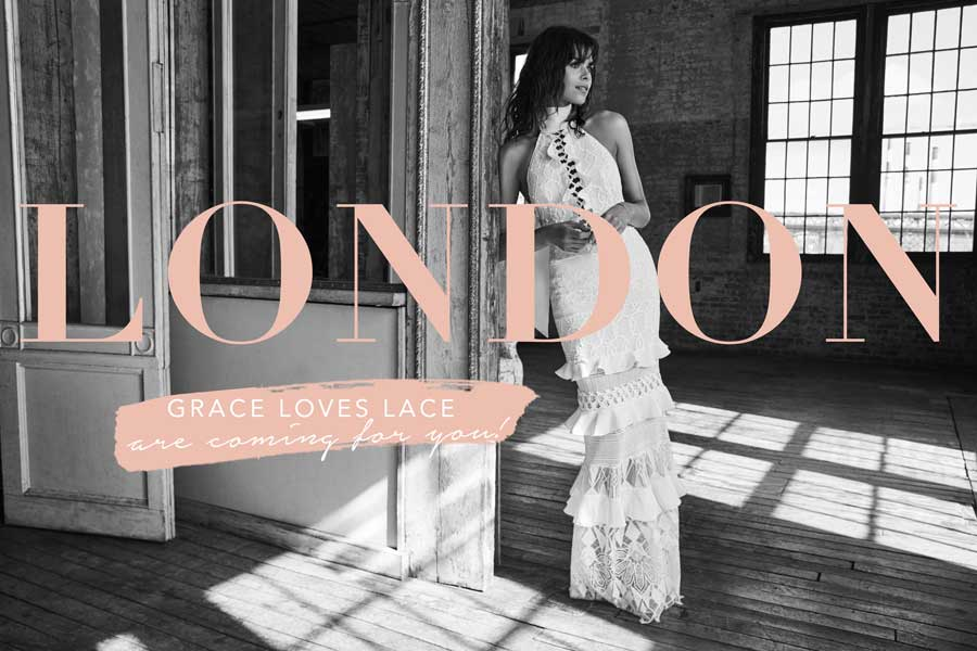OMG! Grace Loves Lace Opens Showroom in London