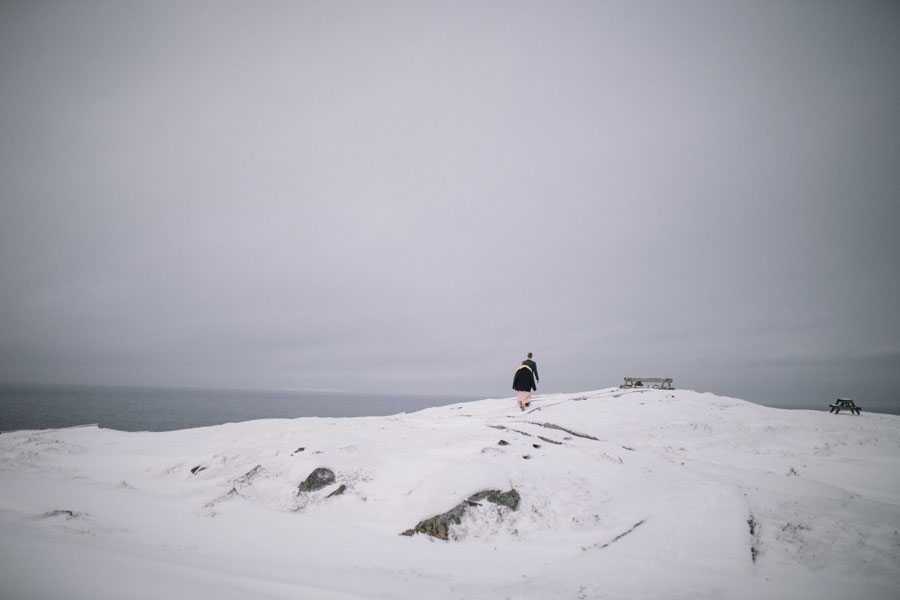 Romantic 'Edge of the World' Elopement in Newfoundland- Capen and Will