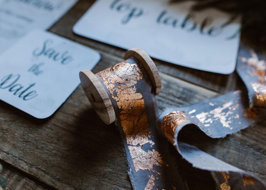The Urban Boho Bride! A Stunning Copper Leaf, Blush & Greenery Wedding Shoot