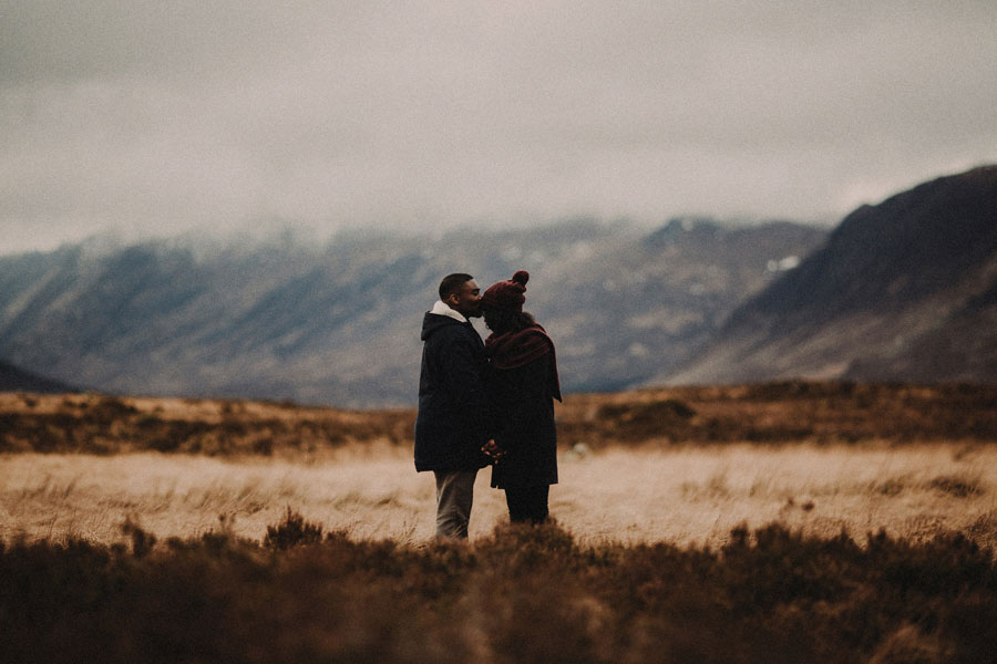 Atmospheric Scottish Highlands Engagement Shoot: Georgina & David