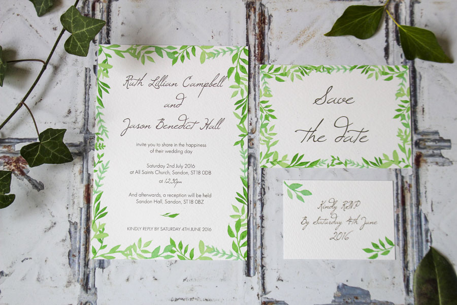 I Love and Love! Super Fresh & Pretty Wedding Stationery0002