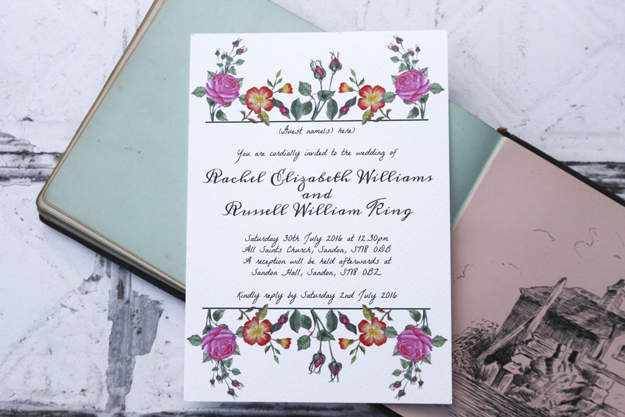 I Love and Love! Super Fresh & Pretty Wedding Stationery0004
