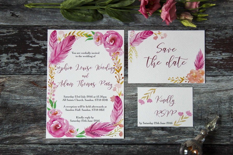 I Love and Love! Super Fresh & Pretty Wedding Stationery0005