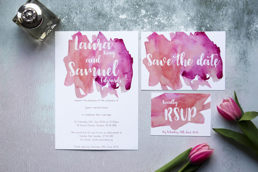I Love and Love! Super Fresh & Pretty Wedding Stationery