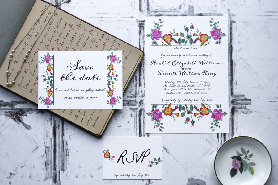 I Love and Love! Super Fresh & Pretty Wedding Stationery0008