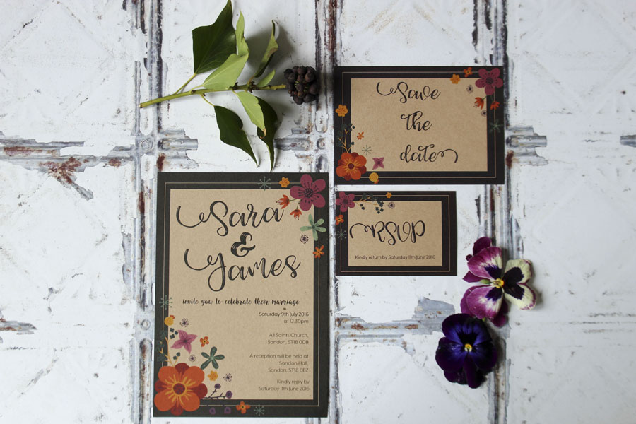 I Love and Love! Super Fresh & Pretty Wedding Stationery0009