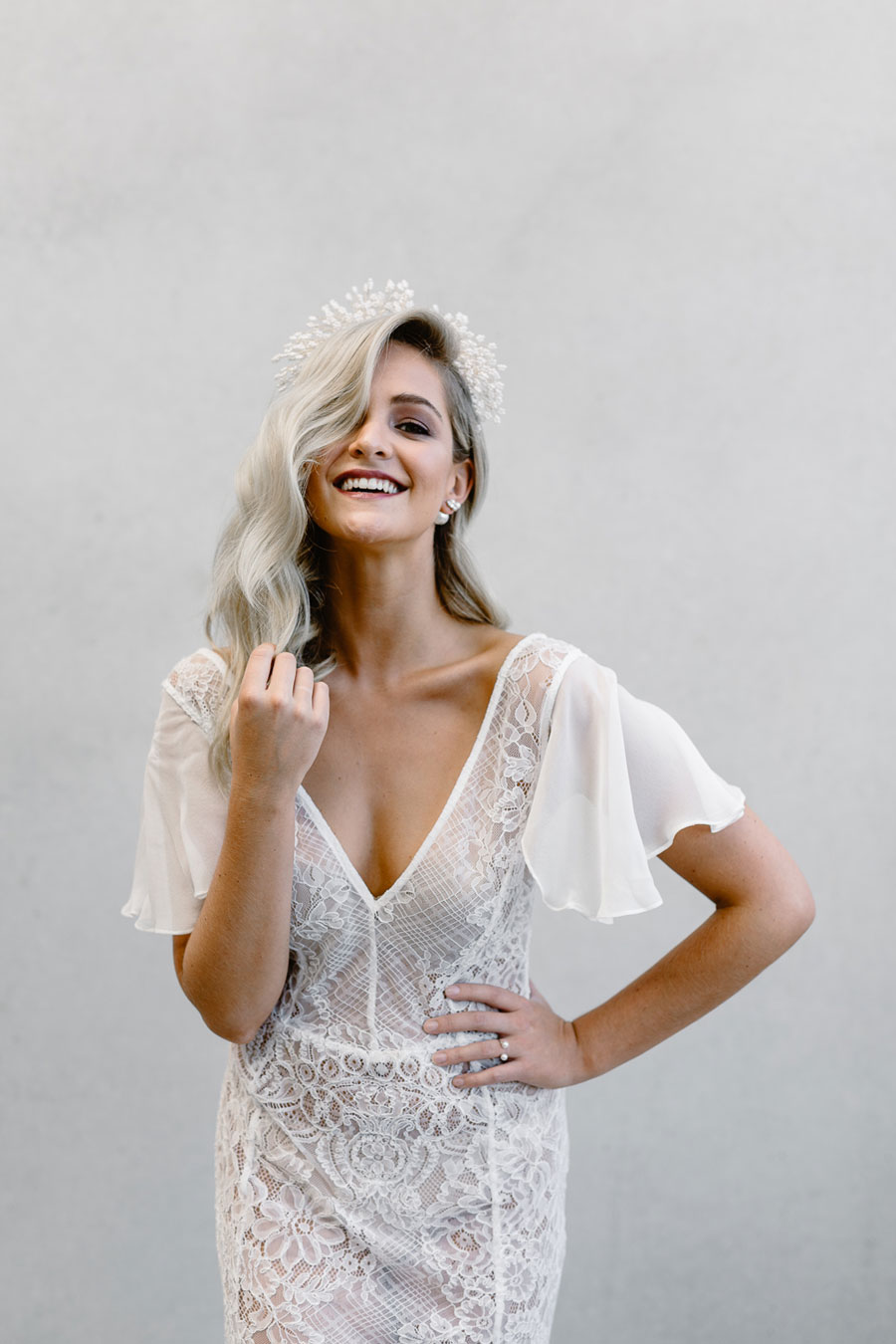 Modern Meets Vintage Bridal Gowns Love Struck The White Files and Cathleen Jia0069
