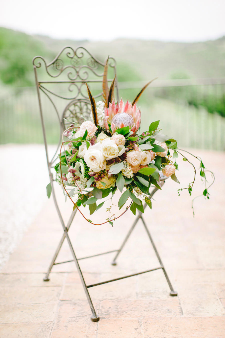 Blush, Rose & Green- A Truly Tuscan Inspired Wedding Shoot!0004