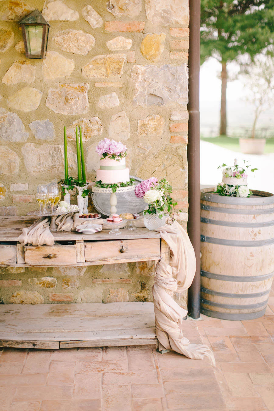 Blush, Rose & Green- A Truly Tuscan Inspired Wedding Shoot!0017