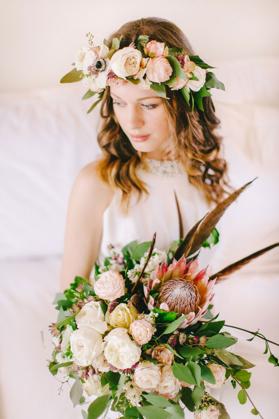 Blush, Rose & Green- A Truly Tuscan Inspired Wedding Shoot!0025