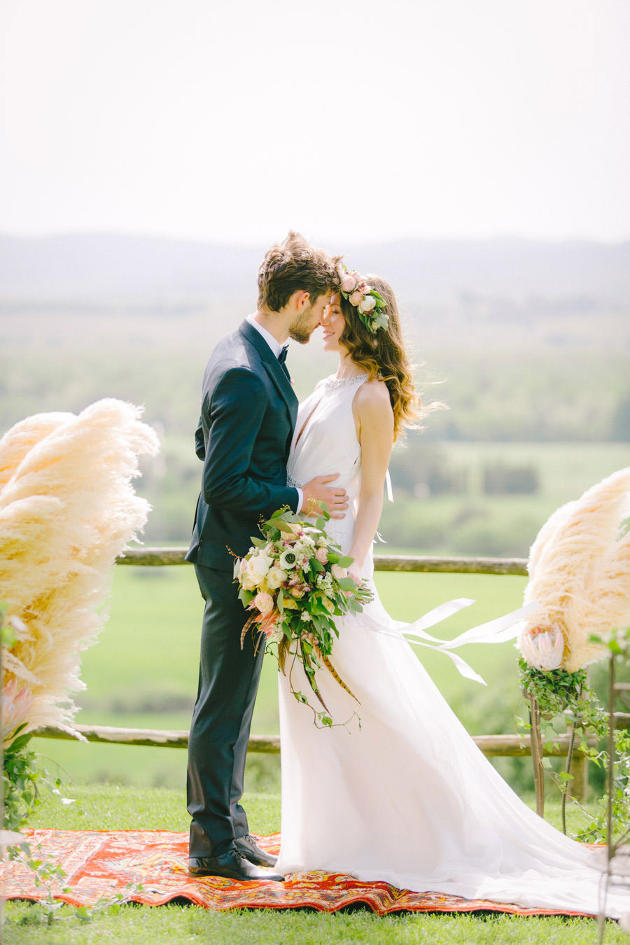 Blush, Rose & Green- A Truly Tuscan Inspired Wedding Shoot!0029