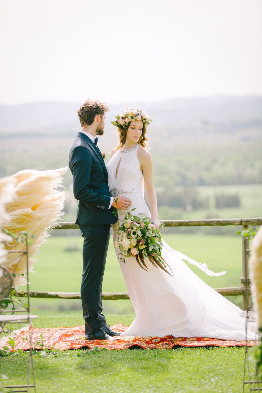 Blush, Rose & Green- A Truly Tuscan Inspired Wedding Shoot!0030