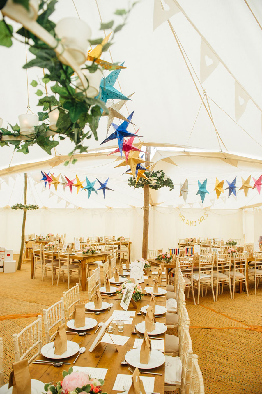 Midsummer Magic- Colourful Star Lantern & Elegant Tents Wedding0043