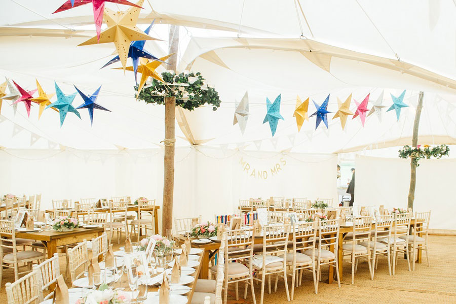 Midsummer Magic- Colourful Star Lantern & Elegant Tents Wedding0061