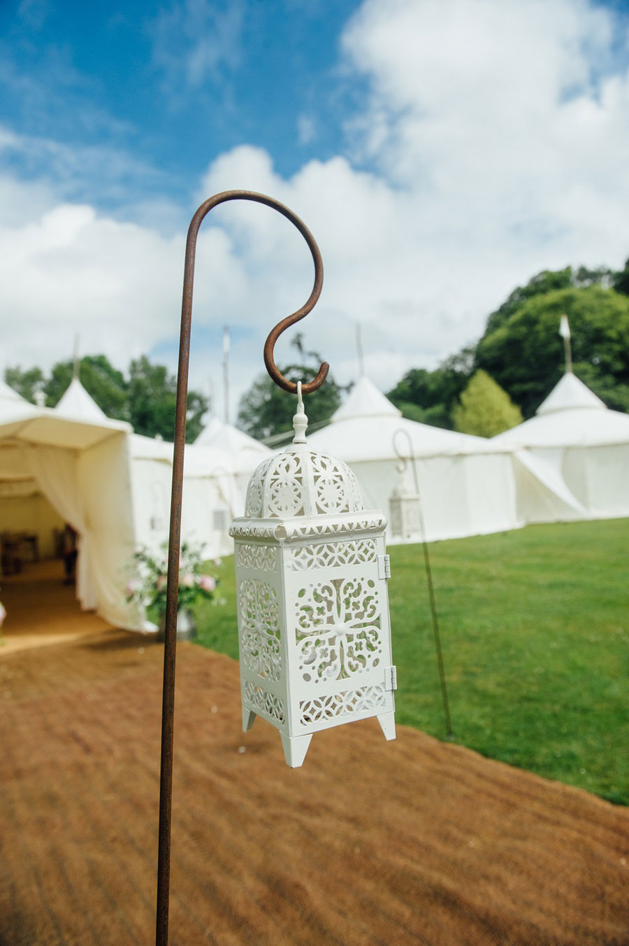 Midsummer Magic- Colourful Star Lantern & Elegant Tents Wedding0090