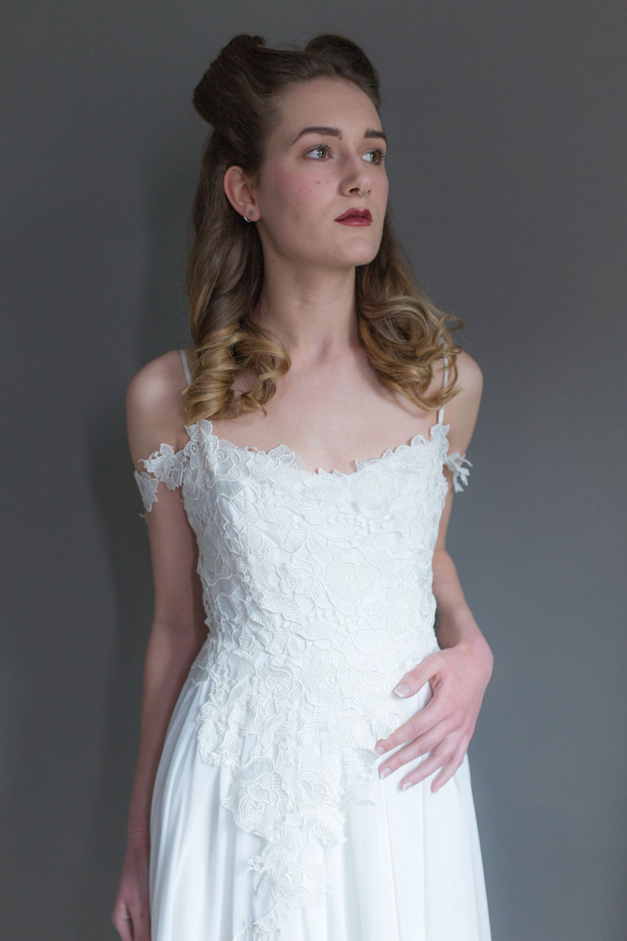 Quirky Wedding Dresses For Non-Traditional Brides- Lucy Can't Dance0008