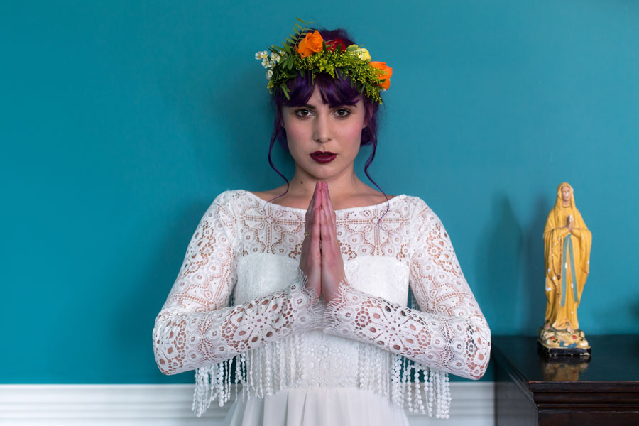 Quirky Wedding Dresses For Non-Traditional Brides- Lucy Can't Dance0020