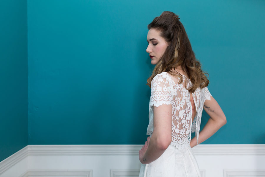 Quirky Wedding Dresses For Non-Traditional Brides- Lucy Can't Dance0026