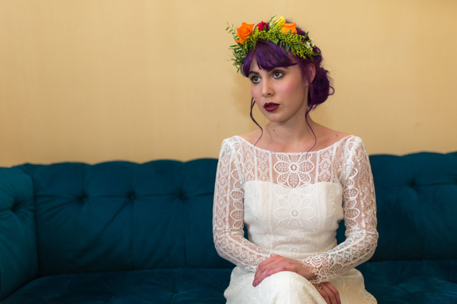 Quirky Wedding Dresses For Non-Traditional Brides- Lucy Can't Dance0028