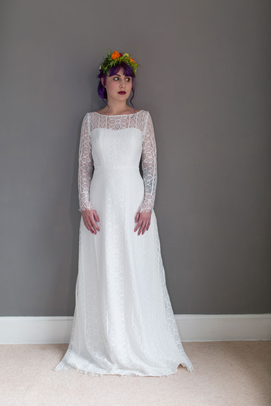 Quirky Wedding Dresses For Non-Traditional Brides- Lucy Can't Dance0029
