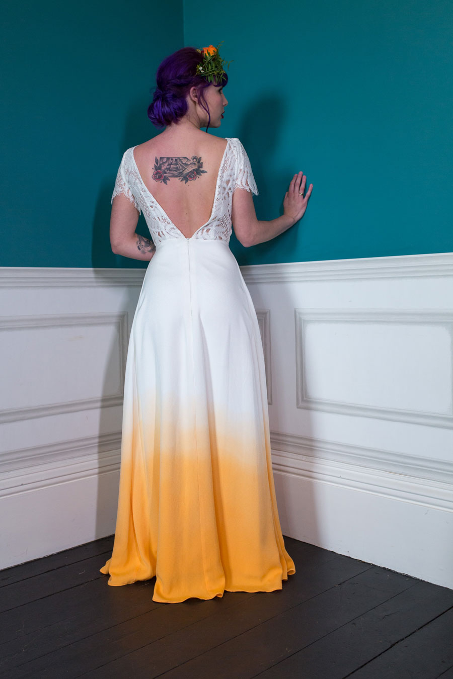 Colourful Amp Quirky Wedding Dresses For Non Traditional Brides Lucy Cant Dance