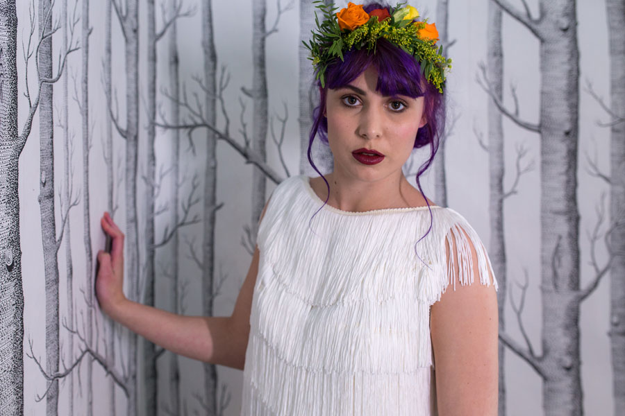 Quirky Wedding Dresses For Non-Traditional Brides- Lucy Can't Dance0043