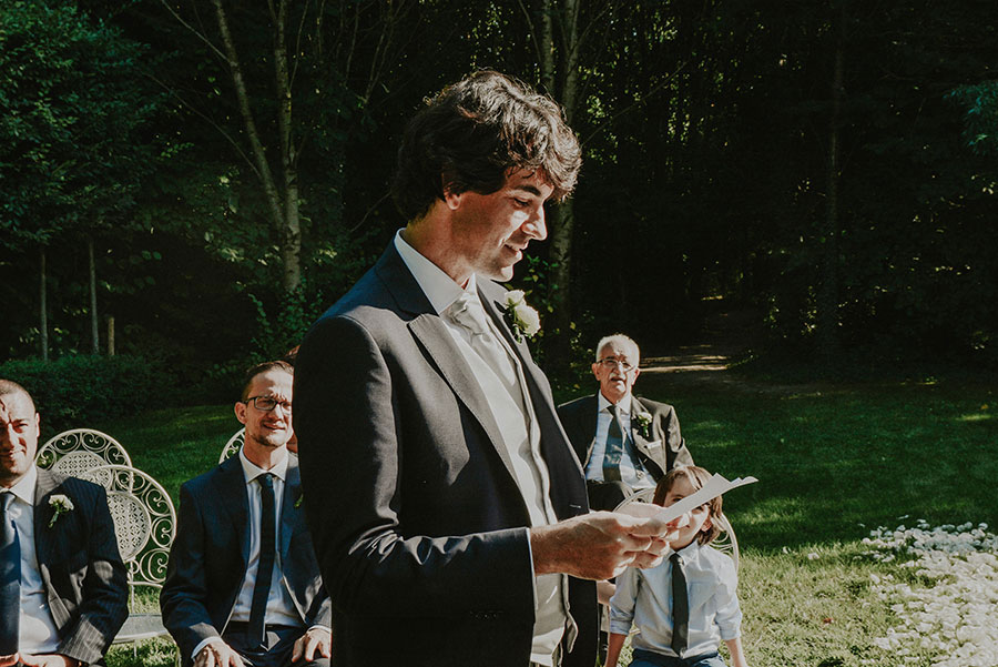 A Wonderful Garden Wedding With Dinner In The Woods!0028