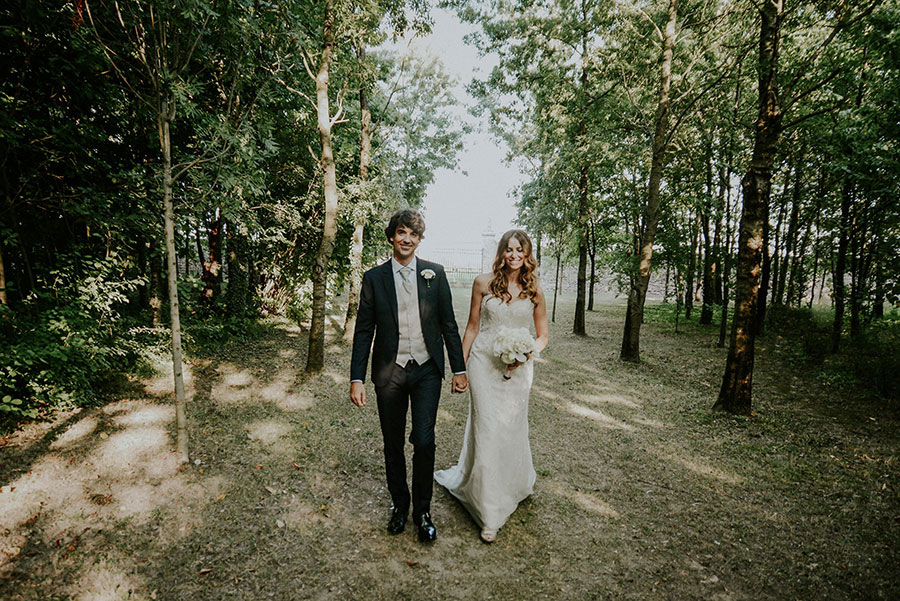 A Wonderful Garden Wedding With Dinner In The Woods!0041