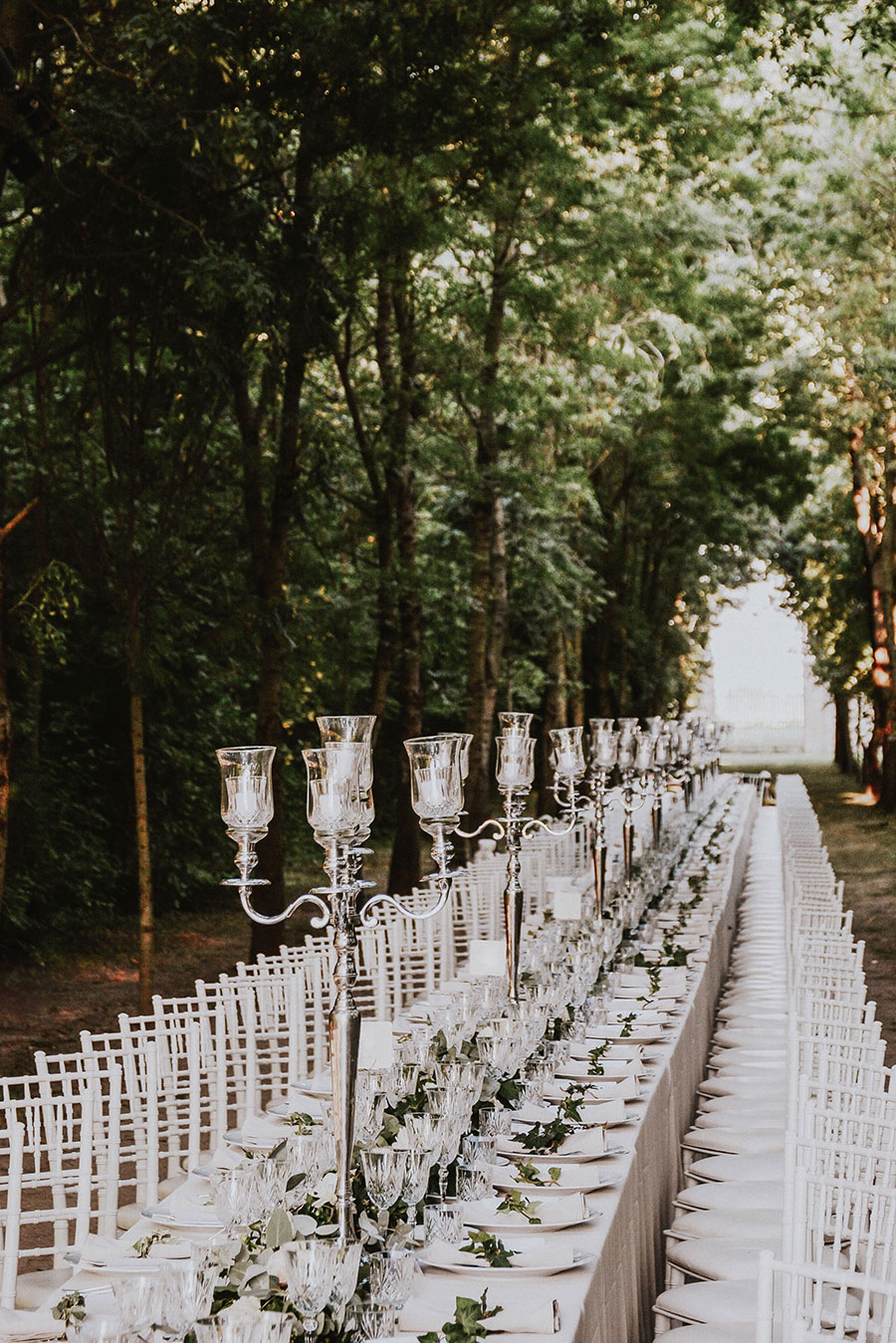 A Wonderful Garden Wedding With Dinner In The Woods!0050