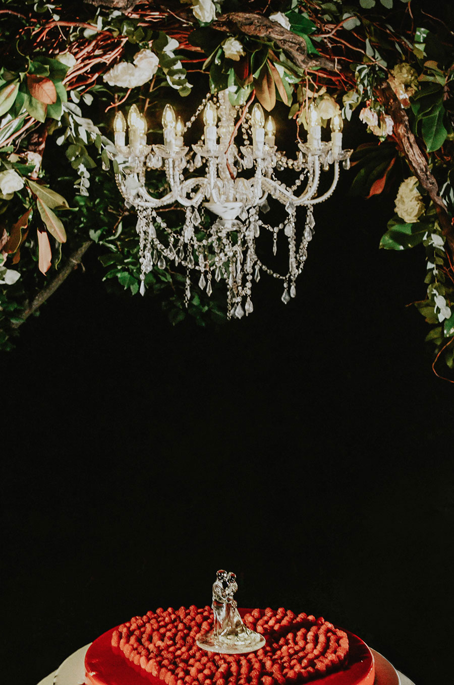 A Wonderful Garden Wedding With Dinner In The Woods!0061