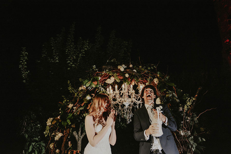 A Wonderful Garden Wedding With Dinner In The Woods!0062