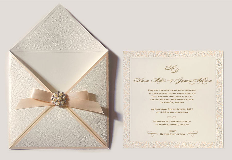 Glam & Pretty- Handcrafted Artisan Wedding Cards & Stationery by Polina Perri Design Studio0001