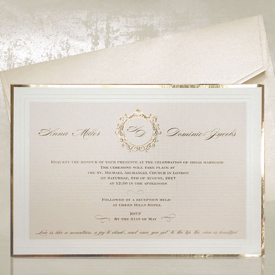 Glam & Pretty- Handcrafted Artisan Wedding Cards & Stationery by Polina Perri Design Studio0004