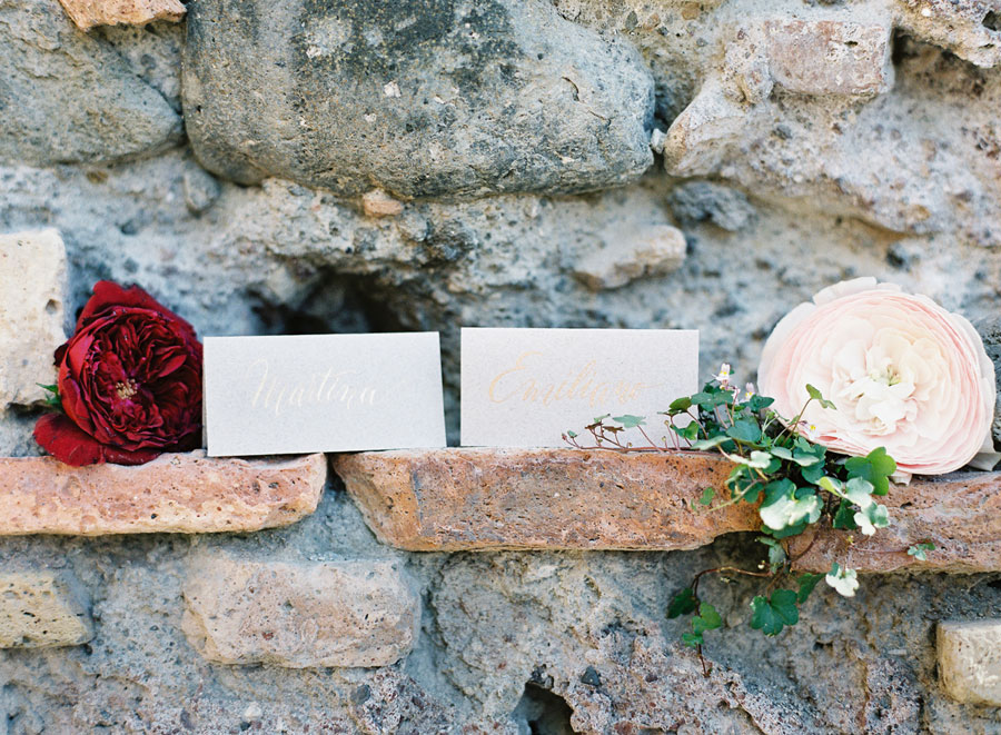 Romantic Blush, Green & Marsala! Incredible Rome Vow Renewal: Martina and Emiliano