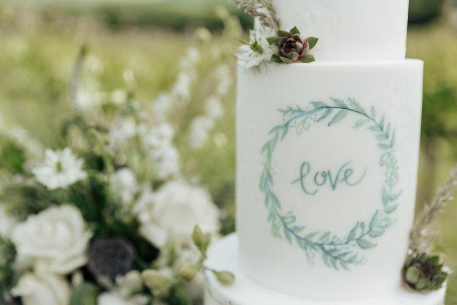 Romantic Vineyard Bridal Shoot With Dusty Blues & Greys0005