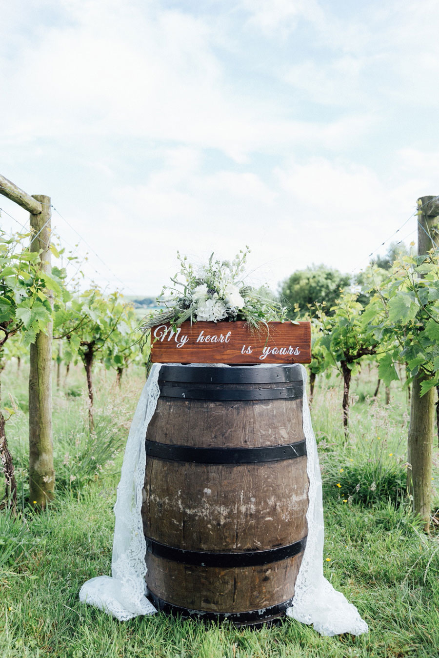 Romantic Vineyard Bridal Shoot With Dusty Blues & Greys0007