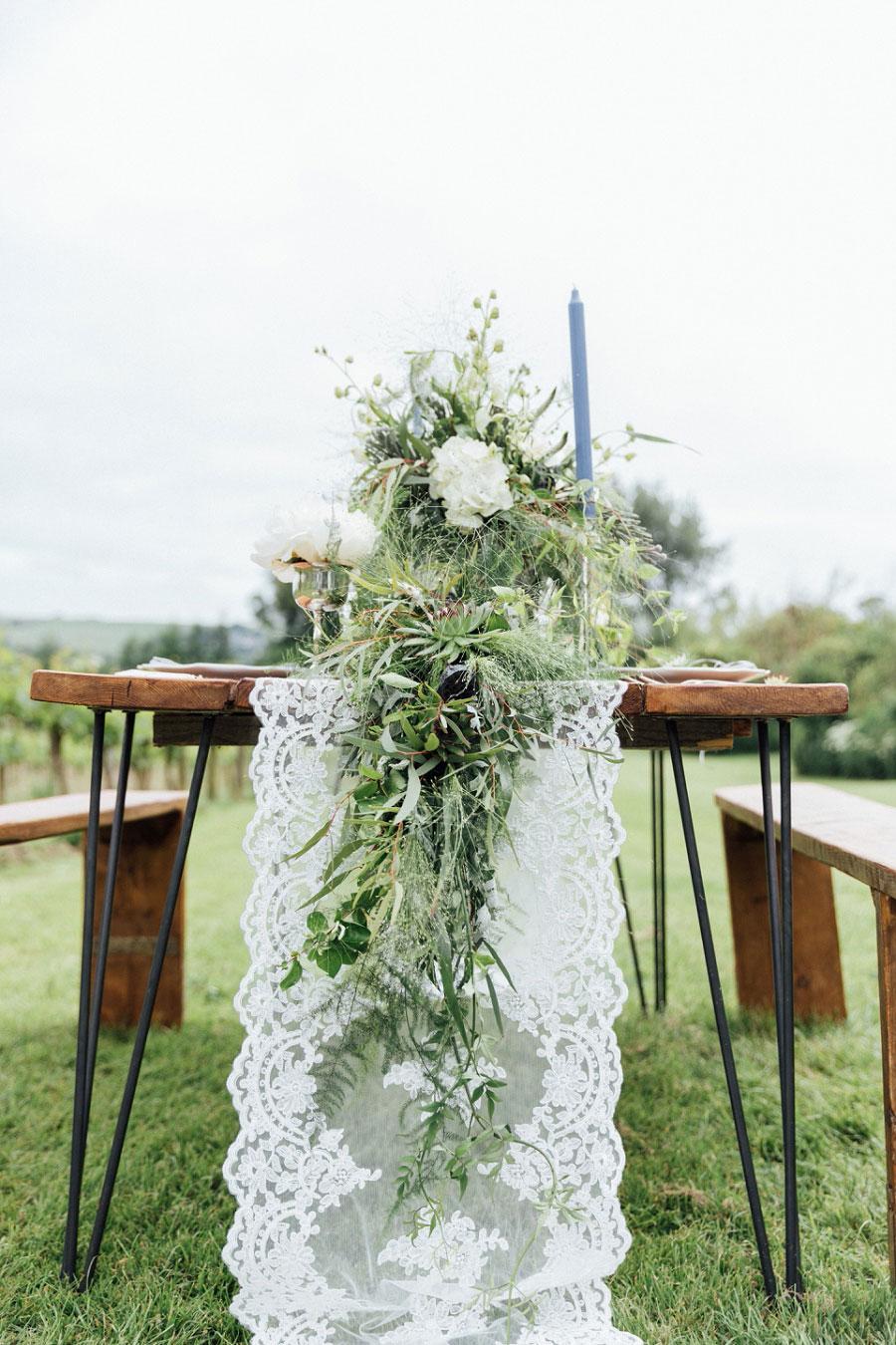 Romantic Vineyard Bridal Shoot With Dusty Blues & Greys0024
