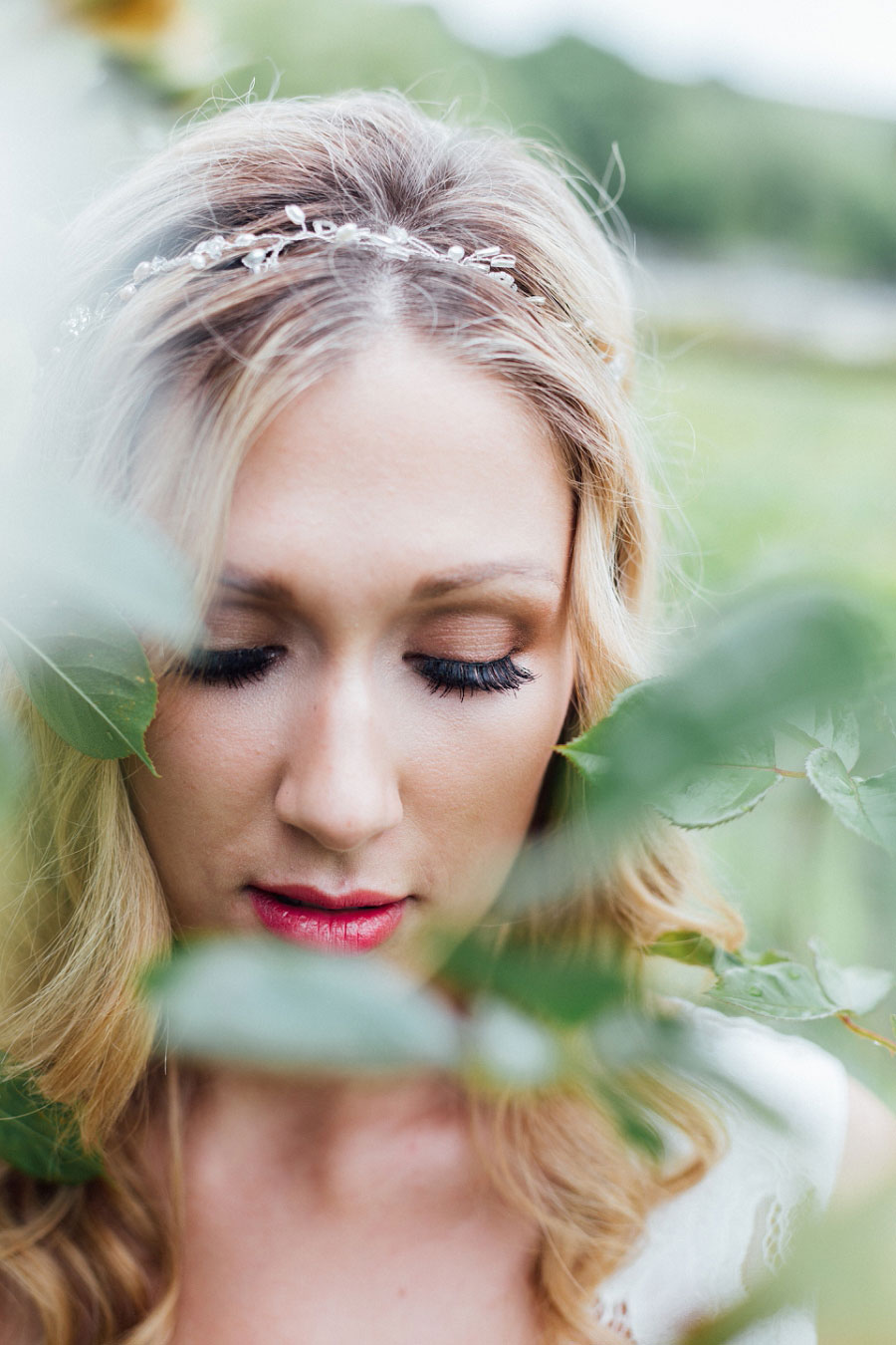 Romantic Vineyard Bridal Shoot With Dusty Blues & Greys0028