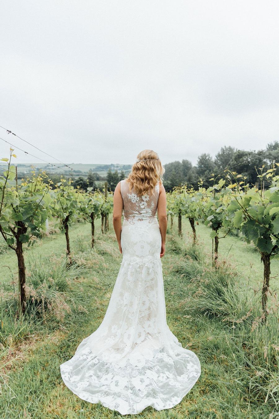Romantic Vineyard Bridal Shoot With Dusty Blues & Greys0037