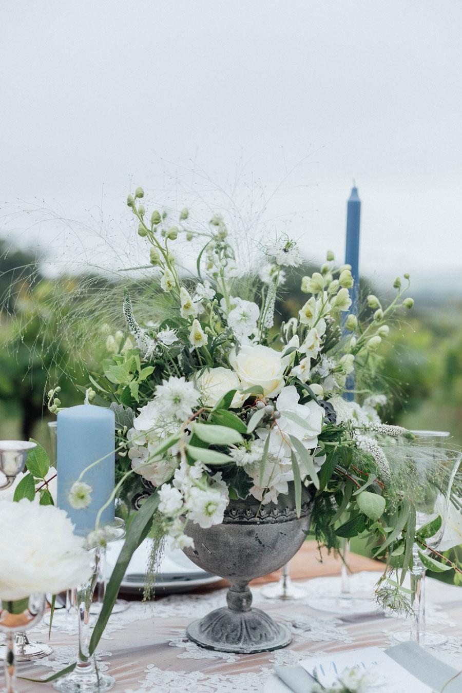 Romantic Vineyard Bridal Shoot With Dusty Blues & Greys0057