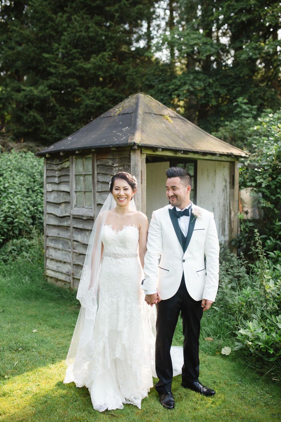 Stately Home Ballroom Wedding With Romantic Vintage Style: Tania & David