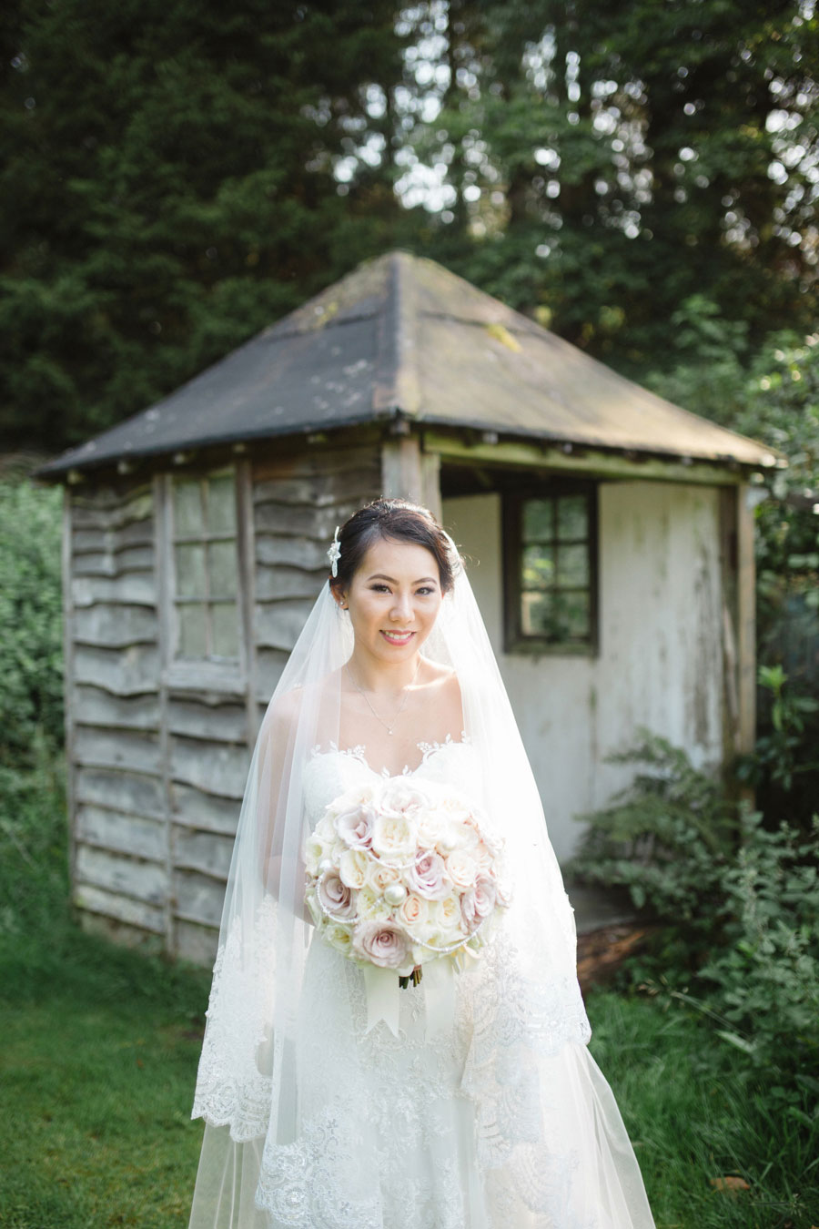Stately Home Ballroom Wedding With Romantic Vintage Style: Tania ...