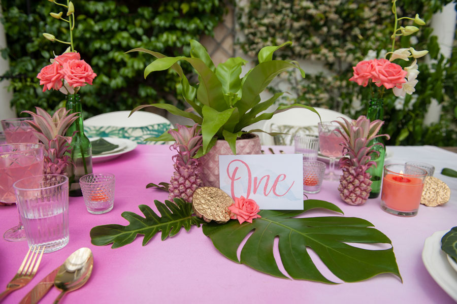You Had Me At Aloha! A Tropical Inspired Bridal Shoot