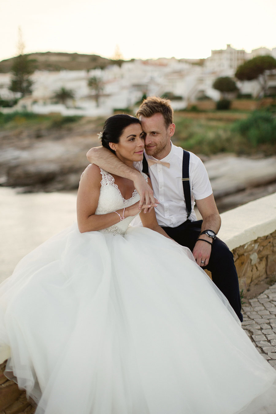 A DIY Peach & Rose Gold Wedding In Portugal0077