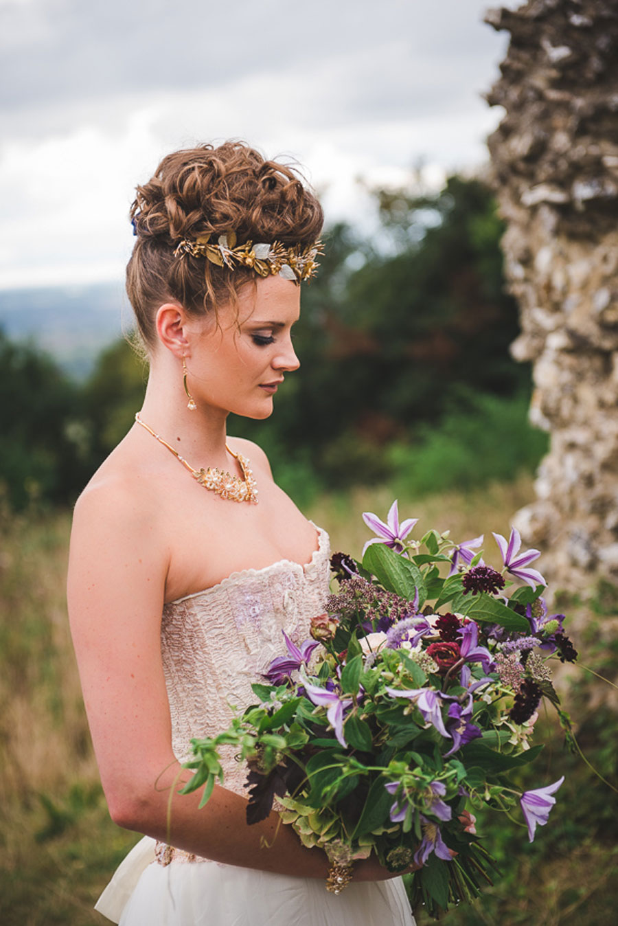 A Late Summer Renaissance-Meets-Fantasy Themed Bridal Shoot0032