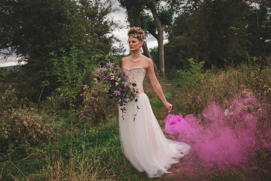 A Late Summer Renaissance-Meets-Fantasy Themed Bridal Shoot0041