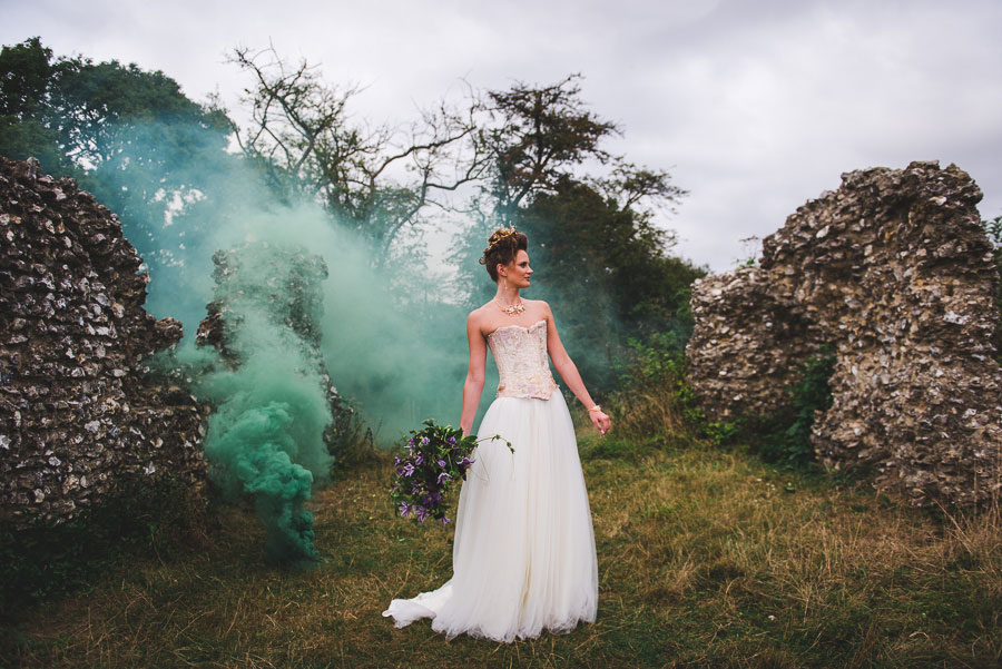 A Late Summer Renaissance-Meets-Fantasy Themed Bridal Shoot0058