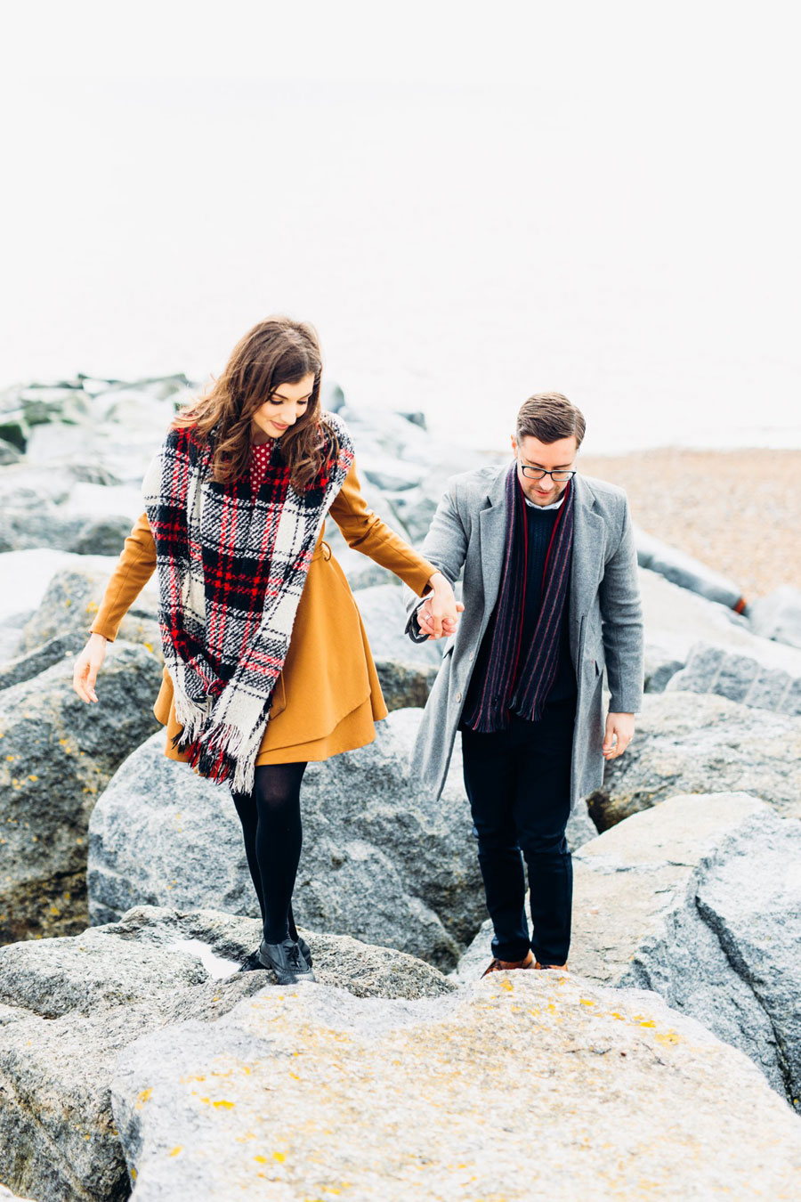 Shoreham Beach & Brighton Bandstand Engagement- Mike & Amy0007